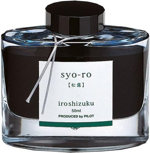 Pilot Iroshizuku Syo-Ro Teal ink 50ml