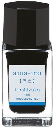 Pilot Iroshizuku Ama-Iro Blue ink 15ml
