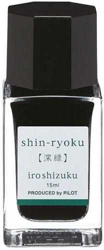 Pilot Iroshizuku Shin-Ryoku Green ink 15ml