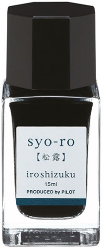 Pilot Iroshizuku Syo-Ro Teal ink 15ml
