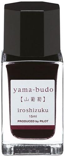 Pilot Iroshizuku Yama-Budo Magenta ink 15ml