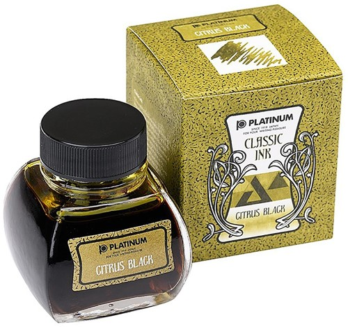 Platinum Classic ink Citrus Black 60ml