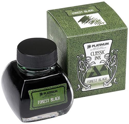 Platinum Classic inkt Forest Black 60ml
