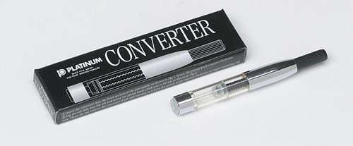 Platinum converter zilverkleur