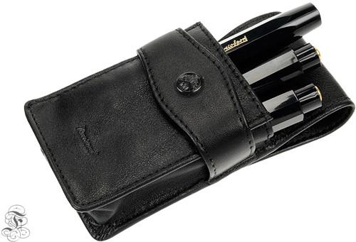 Kaweco Sport leather penpouch 3 Sport pens with flap