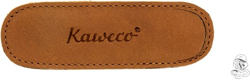 Kaweco Liliput for 2 pens leather penpouch Eco brown