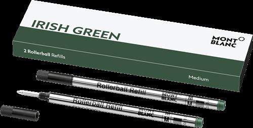 Montblanc Rollerball Irish Green Black MEDIUM 2 pieces