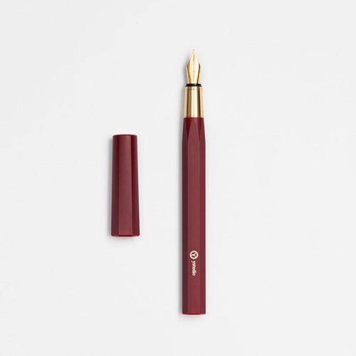 YStudio Resin Red fountain pen