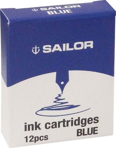Sailor inkt cartridges blauw (12 stuks)