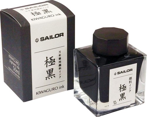 Sailor Kiwa Guro pigment inkt zwart