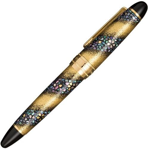 Sailor King Of Pens Maki-e Sakura Nagare vulpen goud