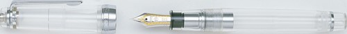 Sailor Pro Gear Demonstrator fountain pen with silver trim