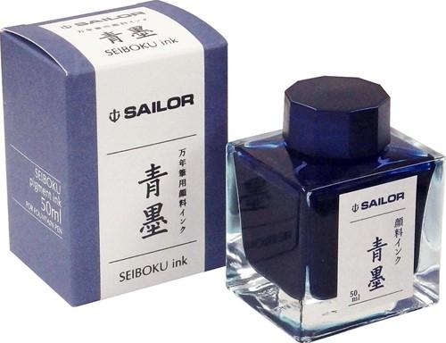 Sailor Sei-Boku pigment ink blue-black