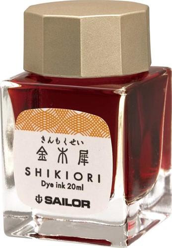 Sailor Shikiori Kin Mokusei ink 20ml