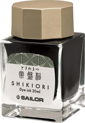 Sailor Shikiori Tokiwa-Matsu ink green 20ml