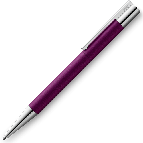 Lamy Scala donker violet balpen speciale editie