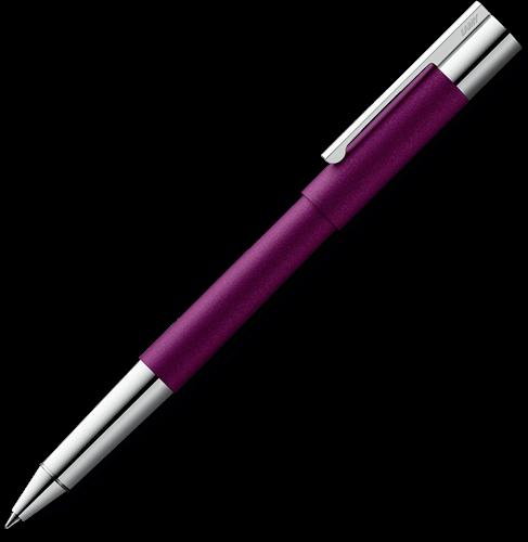 Lamy Scala dark violet rollerball pen special edition