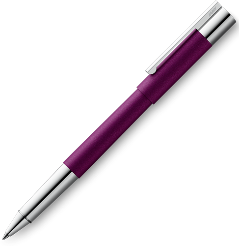 Lamy Scala donker violet rollerball speciale editie