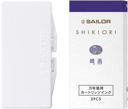 Sailor inkt cartridges Shikiori Shigure (3 stuks)