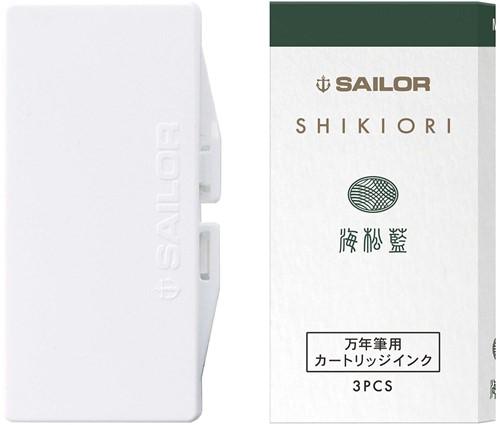 Sailor inkt cartridges Shikiori Miruai (3 stuks)