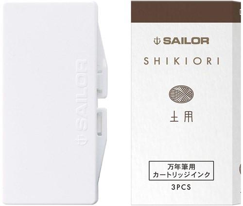 Sailor ink cartridges Shikiori Doyou (3 pcs)