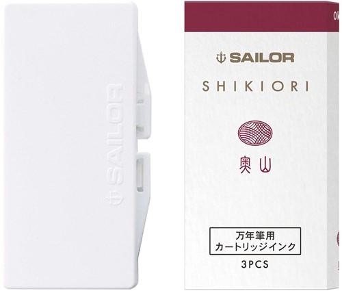 Sailor inkt cartridges Shikiori Oku-Yama (3 stuks)
