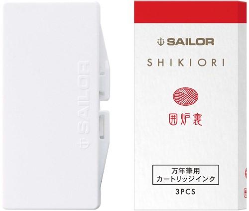 Sailor inkt cartridges Shikiori Irori (3 stuks)