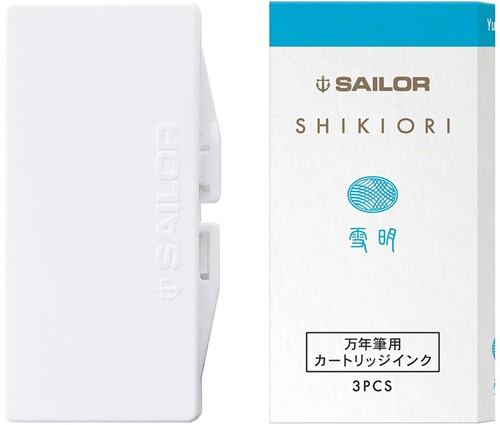 Sailor inkt cartridges Shikiori Yuki Akari (3 stuks)