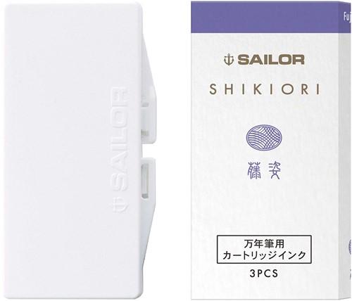 Sailor inkt cartridges Shikiori Fuji Sugata (3 stuks)