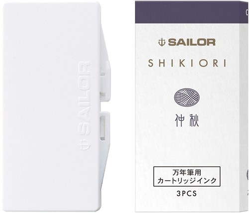 Sailor ink cartridges Shikiori Chushu (3 pcs)