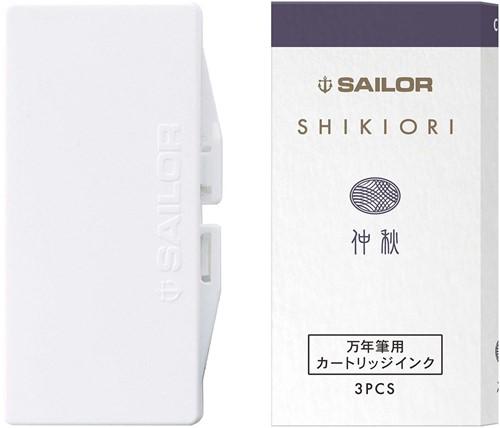 Sailor inkt cartridges Shikiori Chushu (3 stuks)