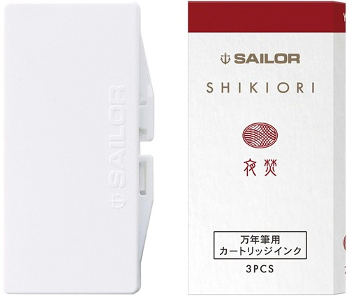 Sailor inkt cartridges Shikiori Yodaki (3 stuks)
