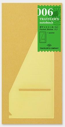 Traveler's 006 pocket sticker