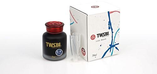 TWSBI inkt 70ml Blauw-Zwart