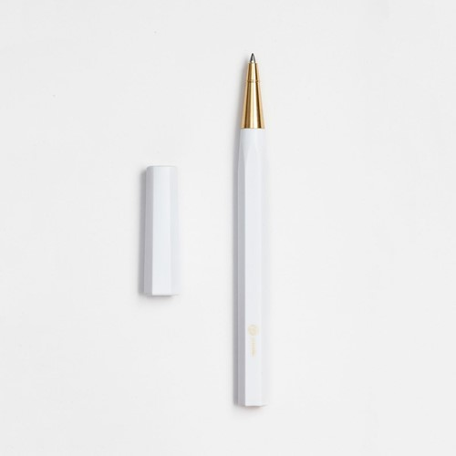 YStudio Resin White rollerball pen